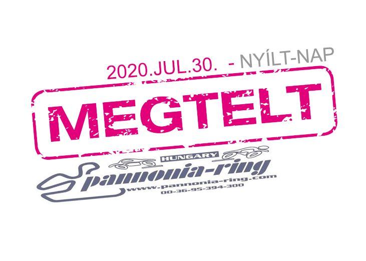 2020.07.30. – Pannónia-Ring Motoros Nyílt-Nap