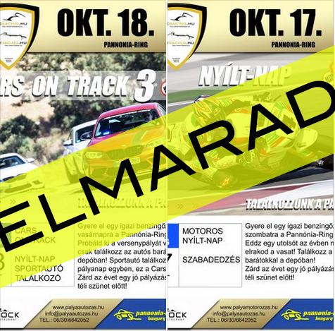 2020.OKT.18. – Cars on Track 3.